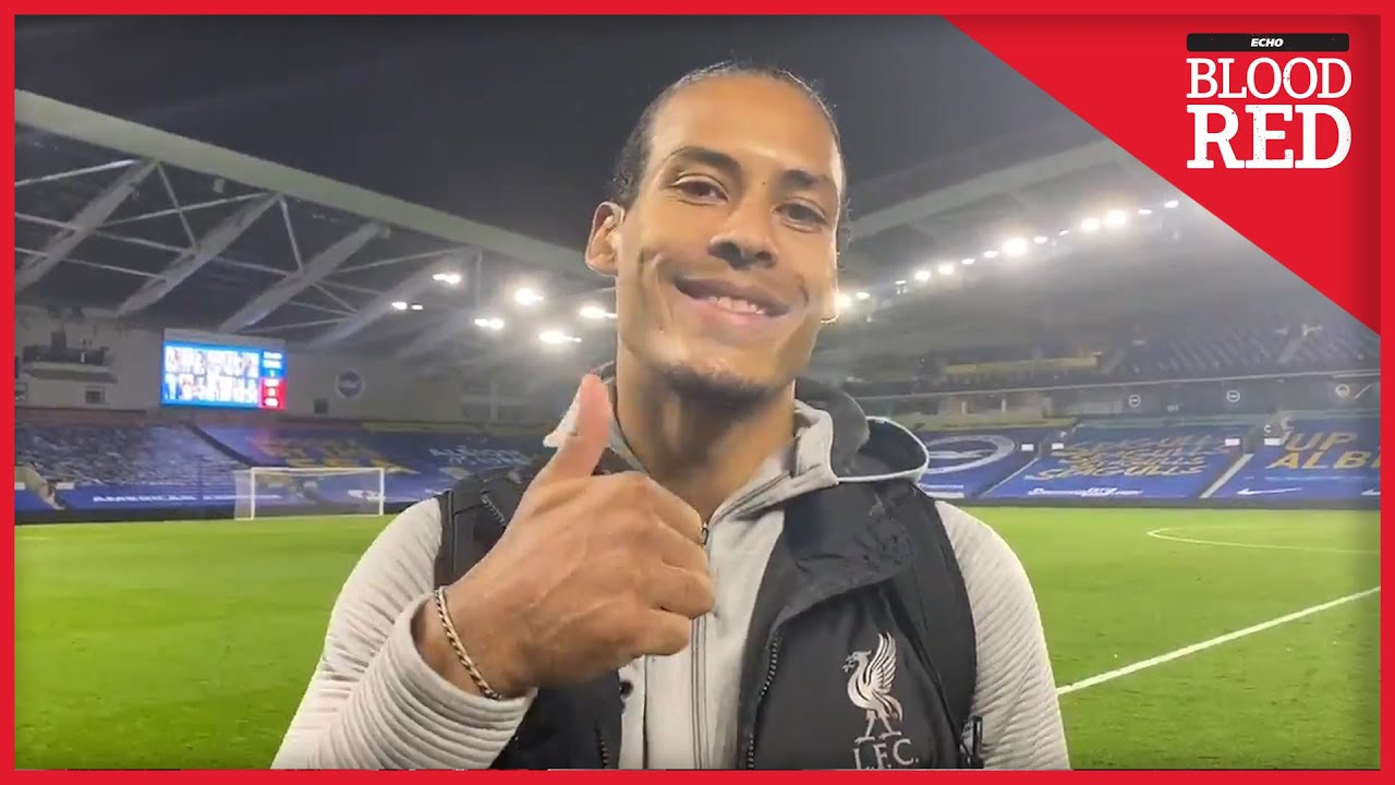 Virgil van Dijk's Birthday Message to Liverpool Fans | Brighton 1-3 Liverpool