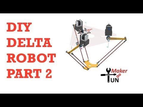 Delta Robot Second Attempt : It Works !!!!