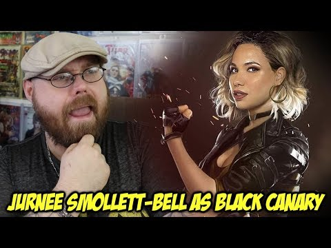 First Look at Jurnee SmollettBell as Black Canary?