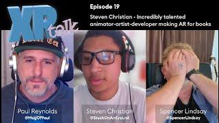 Download Episode 19 - Steven Christian is a talented animator-artist-developer making AR for comics & books
