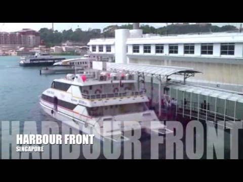Harbour front Singapore to Batam island