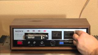 Vintage Sony TC-228 8 Track Tape Deck Player Recorder - for sale on eBay, 1/6/14