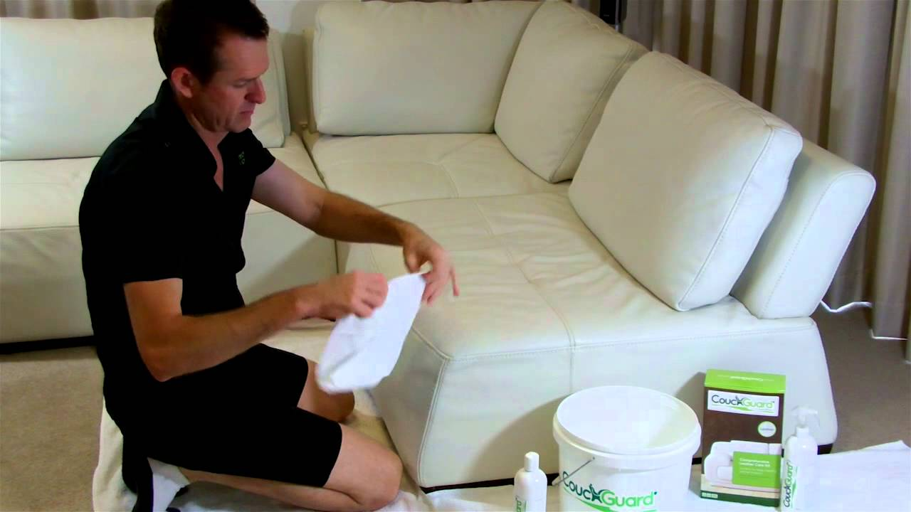 How To Clean White Leather - YouTube