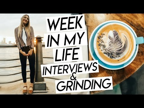 COLLEGE WEEK IN MY LIFE NYC! Interviewing, Figuring Out My Life, & Being Honest