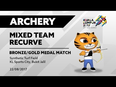 KL2017 29th SEA Games | Archery - Mixed Team Recurve Bronze/Gold Medal Match | 22/08/2017