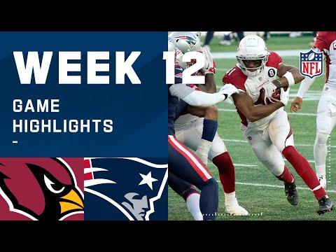 Cardinals vs. Patriots Week 12 Highlights   NFL 2020