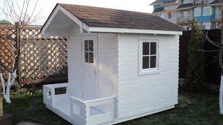 маленький домик для детей !