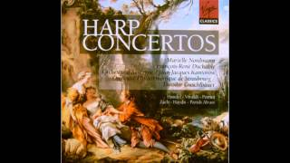 Elias Parish Alvars: Concertino for harp and piano in D minor - II. Andante