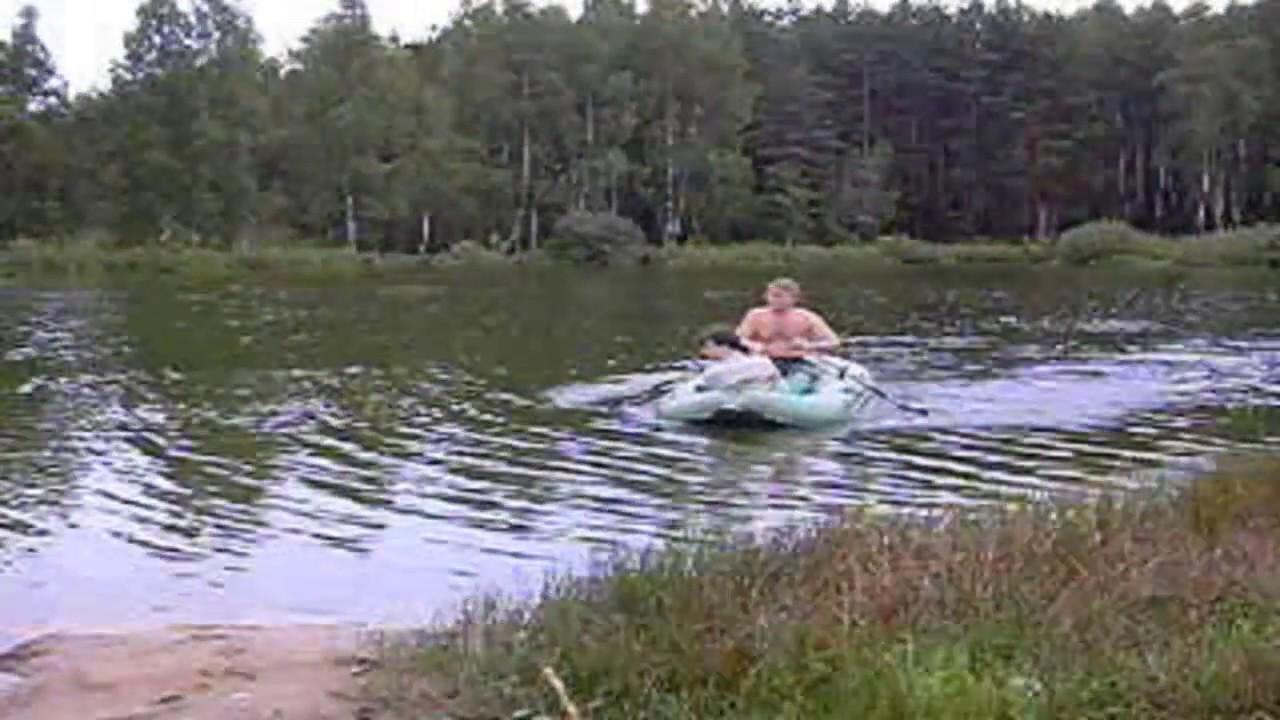 Лодка Иволга 2-06 (ЯРТ - Ярославская) - надувная резиновая - YouTube