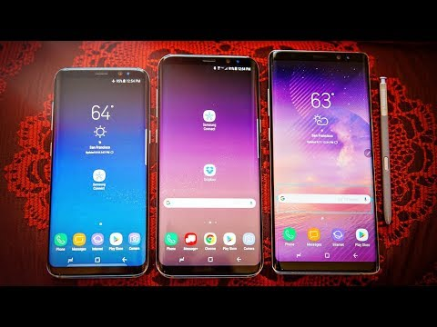 Samsung Galaxy Note 8 vs S8 Plus & S8 - Which Should You Buy?