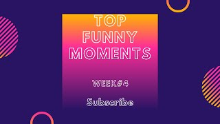 Best funny moments week #4 Amazing video! Fail Compilation| Funny Vines| TRY NOT TO LAUGH|