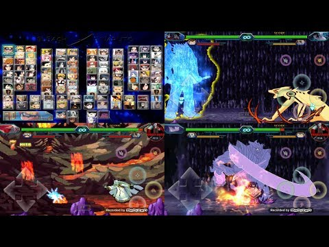 [APK] Best Mugen Naruto Shippuden For Android With All Susanoo & Bijuus + Kages 2020 DOWNLOAD !!!
