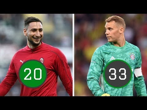 Best Goalkeeper At EVERY Age From 16-40