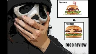 FOOD REVIEW CARL'S JR. FAMOUS STAR VS BEYOND MEAT FAMOUS STAR!