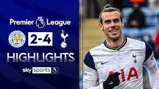 Bale brace ends Leicester's Champions League chances! | Leicester 2-4 Tottenham | EPL Highlights