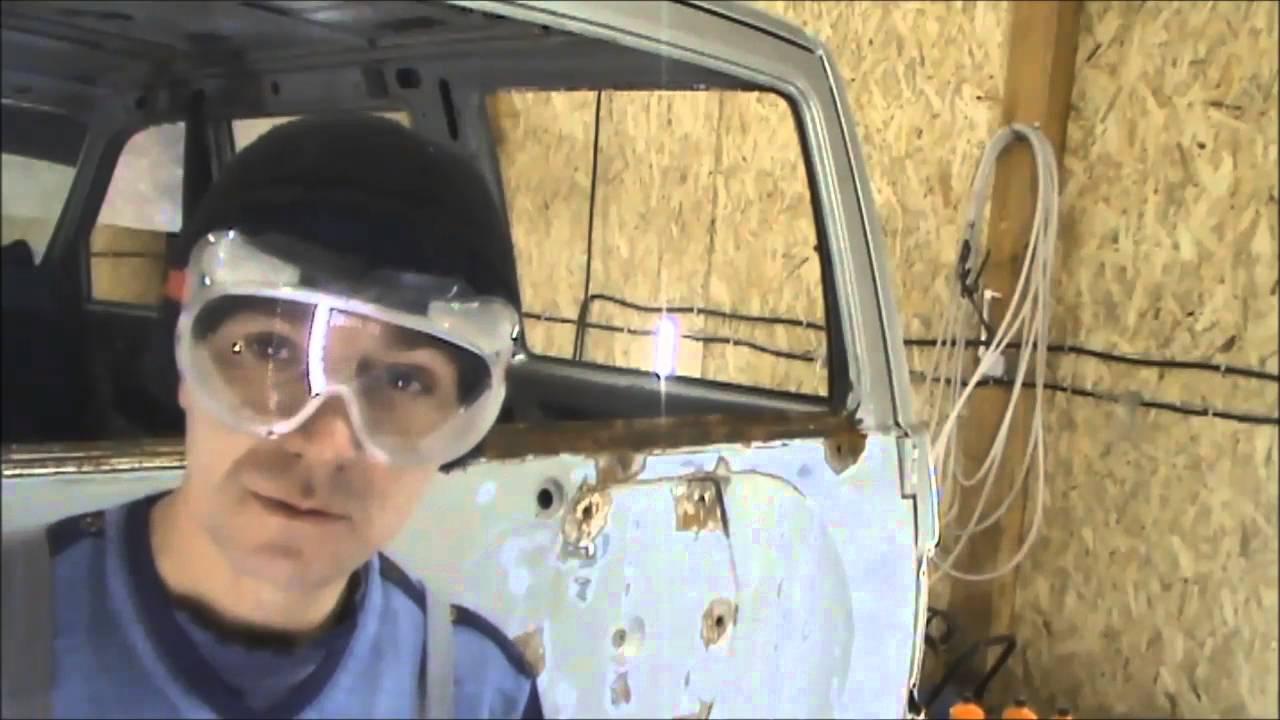 Ремонт УАЗ Патриота  1 серия ремонт задней двери