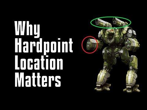 New Player Guide: Good vs Bad Hardpoint Locations - MechWarrior Online