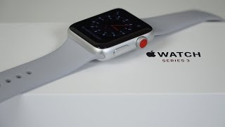 Apple Watch Series 3 - Unboxing & First Impressions!