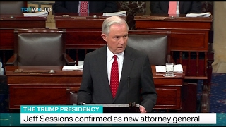 The Trump Presidency: Jeff Sessions confirmed as new attorney general Free HD Video