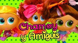 Juguetes Distroller Chamoy y Amiguis Abrimos muñecas Chamoy Tinga Berinaiz Mole y Chimichanga