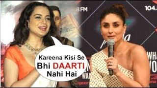 Kangana Ranaut's SWEETEST Reaction On Kareena Kapoor SUPPORTING Her Over Karan Johar & Alia Bhatt