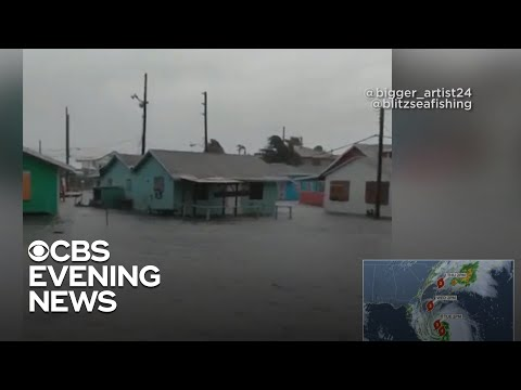 Bahamas 'at war' with Hurricane Dorian after storm surge pummels island