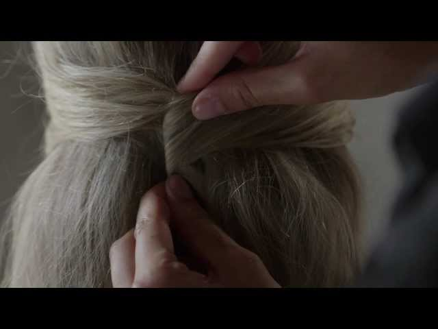 Wavy Half-Up Look Hair Tutorial by TRESemmé Style Studio | Medium Length Travel Video
