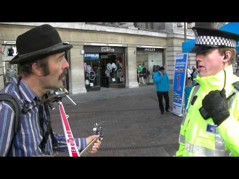 Buskers Unregulated lay down the law in Nottingham