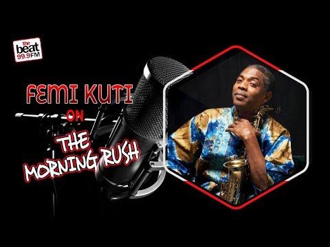 The Living Legend Femi Kuti On The Morning Rush