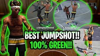Download 2k19 Best Jumpshot 100 Greens Best Nba 2k19