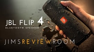 JBL Flip 4 Bluetooth Speaker - REVIEW