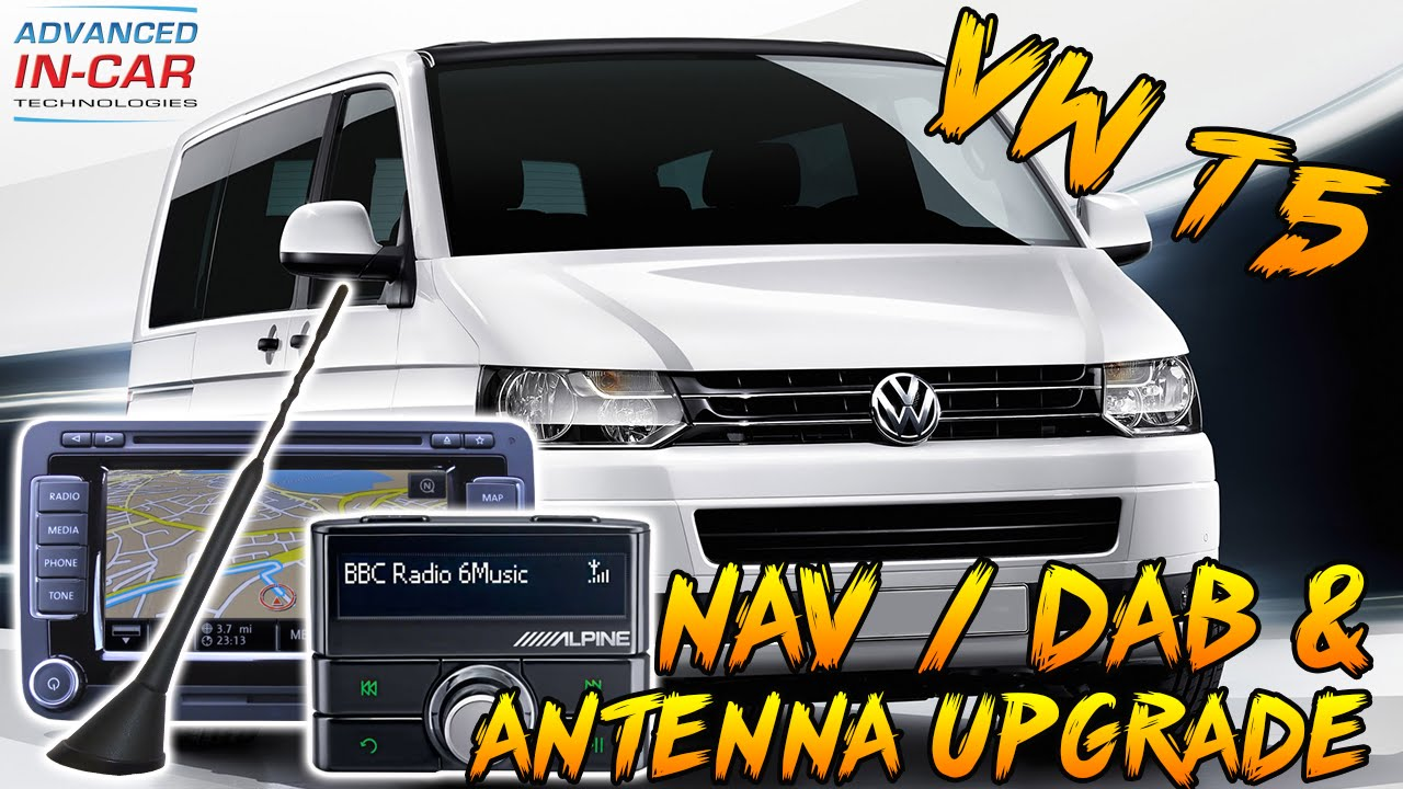 volkswagen t5 digital radio oem beesting dab antenna. Black Bedroom Furniture Sets. Home Design Ideas