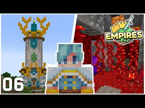 A MAGICAL New Build! - Minecraft Empires SMP - Ep.06