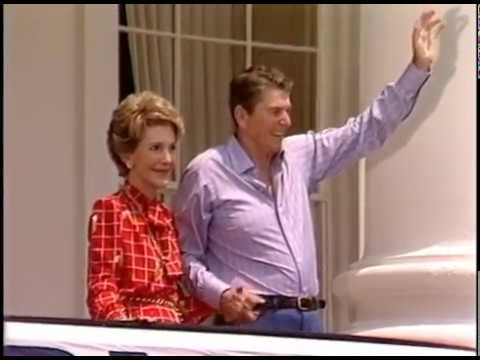 President Reagan's Returns to the White House from Bethesda Naval Hospital on June 20, 1985
