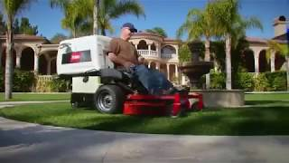 Toro Z Master 8000 series Landscaping Mower with Collector