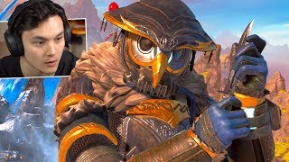 Reacting to *NEW* Bloodhound Town Takeover Event Trailer! - Apex Legends