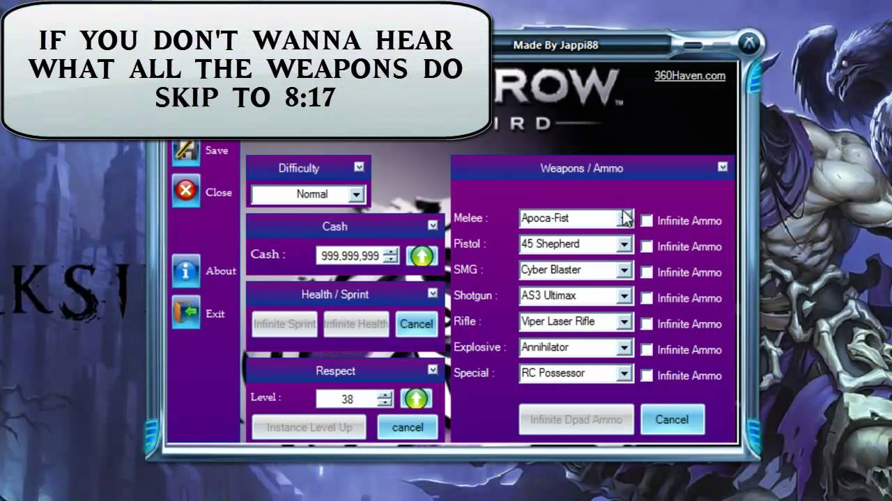 Saint.Row.The Third.+7 Trainer Tournament Hack
