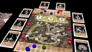 Bomarzo boardgame: English Preview