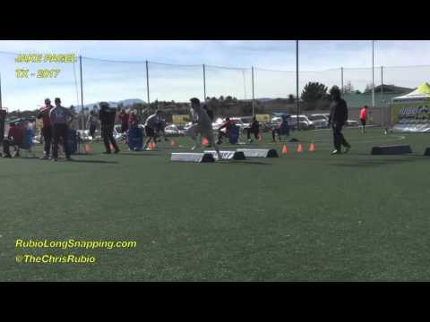 Rubio Long Snapping, Jake Pagel, VEGAS XXVII, Agility