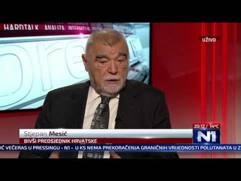 N1 Pressing: Stjepan Mesić (24.10.2016)