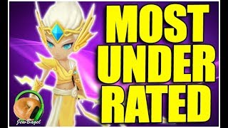 SUMMONERS WAR : EREDAS is one of the MOST UNDERRATED nat 4's. Seriously.