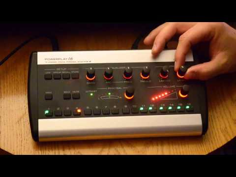 Behringer P16-M Personal Monitor Mixer Instructions
