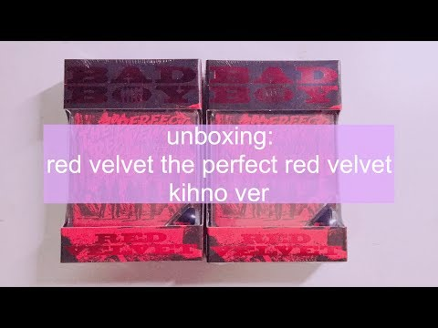[ UNBOXING + TUTORIAL ] The Perfect Red Velvet Kihno Ver 레드벨벳 키노 앨범 후기