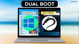 Dual Boot WINDOWS 10 and KALI LINUX  Easily  STEP BY STEP GUIDE(, 2015-11-09T16:25:41.000Z)