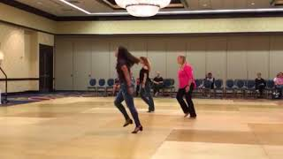 Phrased AB line dance choreographed by Betsy Courant.