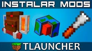 [TLauncher] Como instalar MODS! [PIRATA + ORIGINAL]