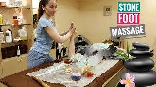 Расслабляющий массаж для стоп | Foot STONE MASSAGE