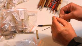 Wood Turning 101: Pen Turning: The Slim Line Pen Kit Introduction
