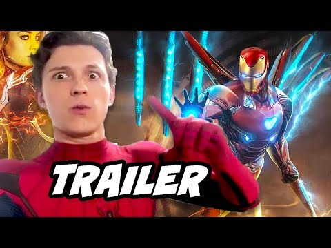 Spider-Man Far From Home Trailer 2 - Avengers Endgame Timeli