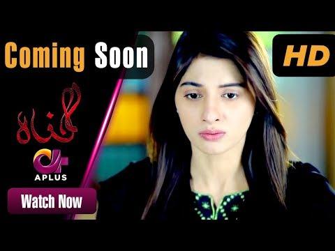Gunnah - Coming Soon | Aplus Dramas | Sara Elahi, Shamoon Abbasi, Asad Malik | Pakistani Drama